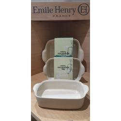 Emile Henry Èpure uunivuoka neliö  0.70l / 22cm X 14.5cm