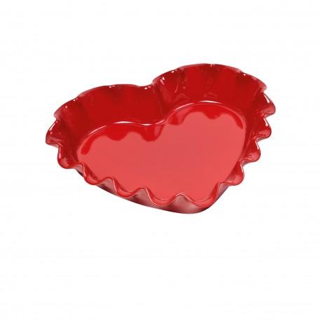 Koogivorm laineline südamekujuline, granaatõuna punane