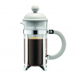 Bodum kahvi pressopannu Caffettiera, valkoinen
