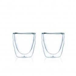 Bodum klaasid Pilatus, topeltseinaga klaas, 2 tk