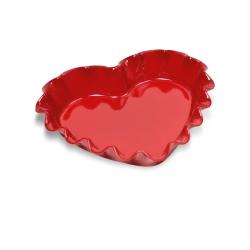 Emile Henry kakkuvuoka sydämen muotoinen 1.50L.