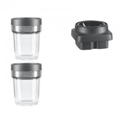 2x200ml стакана+блок измельчитель( блендер K400)