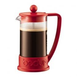 Bodum kafijas spiedkanna Brazil, sarkana