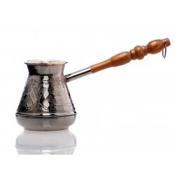Ibrik Turkkilainen kahvipannu 200ml, kruunu.