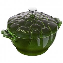 Staub pott malm Artichok 22 cm/3 l, basiiliku roheline
