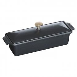 Staub terīne čuguna 30x11cm/1.45l, melna