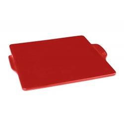 Emile Henry grila plate, granātābolu sarkana