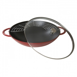 Staub wok pann malm 37 cm/5,7 l