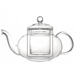 Bredemeijer teekann Verona, borosilikaat klaas