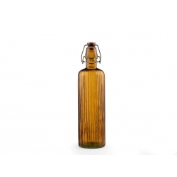 Bitz ūdens pudele Kusintha stikla, Dzintars