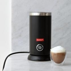 Bodum elektriskais piena putotājs Bistro, melns