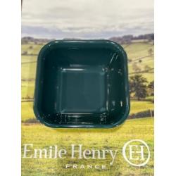 Emile Henry ahjuvorm kandiline väike, tuhmsinine