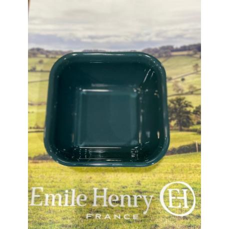 Emile Henry cepšanas forma kvadrāta, viegli zila