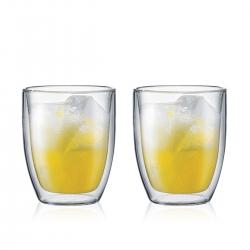 Bodum dubultsienu stikla glāze Bistro 0,48 l, komplekts, 2 gab