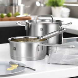 Zwilling Moment Stainless Steel Matte Cooking Pot Set
