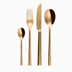 Sola söögiriistad Luxus 24-osa, kuld