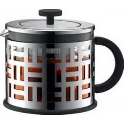 Bodum Eileen tējas spiedkanna 1,5l metāla