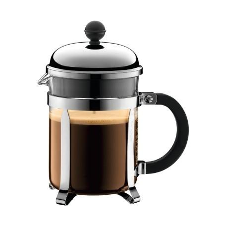 Заварочный кофейник с прессом Chabord хром 1,0L