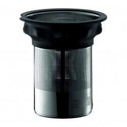 Nerūsējoša tērauda filtrs ar silikona malu
