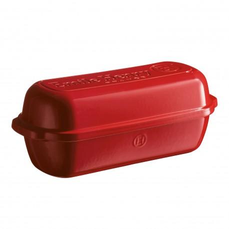 Leivaküpsetusnõu UUS , 32,5x29,5x14, granaatõuna punane