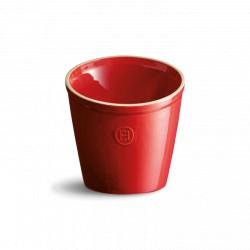 Köögiriistade tops Ø14cm, ilma tarvikuteta, punane, pruun, hall, valge
