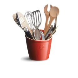 Kitchen utensils pot Ø14 cm, brick red