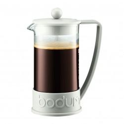 BRAZIL kohvipresskann 1,0l, valge
