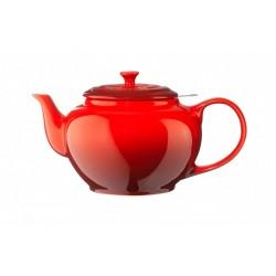 Keraamiline teekann sõelaga 1,3l, punane Le Creuset
