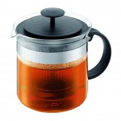 Bodum tējas kanna Bistro Nouveau, ar platmasas filtru 1,5 l