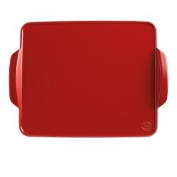 Cepšanas paplāte 41,5x31,5cm, sarkana, melna