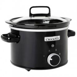 Crock-Pot lēnvāres katls 2,4 l, manuāls, melns