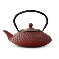 Bredemeijer teekannu valurauta  Xilin 1,25 l, punainen