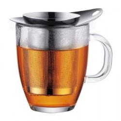 Bodum tējas krūze ar metāla sietiņu YoYo 0,35 l