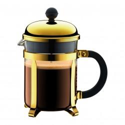 Bodum kafijas spiedkanna Chambord, zelta