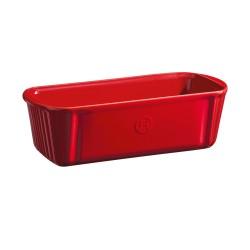 Kēksu forma Douceurs 31x13cm/1,8l, sarkana, brūna, pelēka