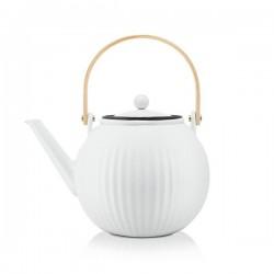 Bodum Douro tējas spiedkanna 1,5 l, balta un melna