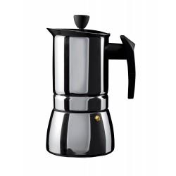 Grunwerg espresso vārāmais indukcijai 4 tasītēm, nerūsējošs tērauds