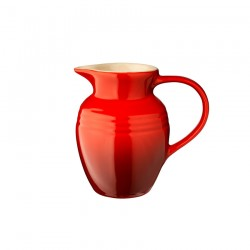 Le Creuset krūze  0,6l, sarkana, keramika