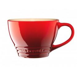 Le Creuset кружка 0,4л красный,бежевый, синий, серый