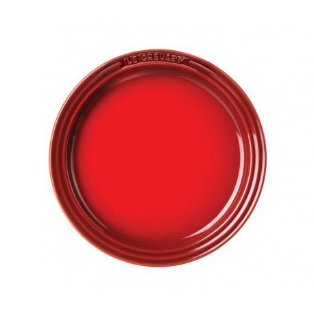 Desserttaldrik Classic 18 cm, punane, beež, sinine, hall