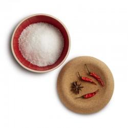 Контейнер для соли с пробковой крышкой 14.6см / 0.5л