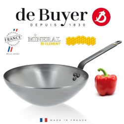 de Buyer wok Mineral B