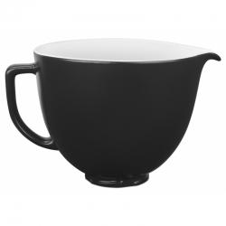 Керамическая чаша для миксера 4,7l, матовый черный